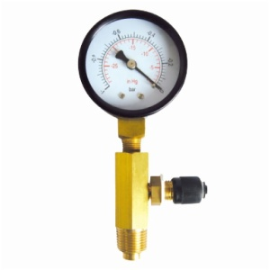 "1/4 ""SAE & Ø 50mm Vacuum Gauge"