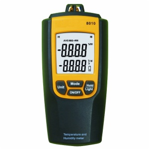 Digital Temperature Humidity Meter With Dew Point