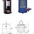 Refrigeration Heat Exchanger Accumulator & Liquid Receiver